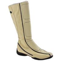 Παπούτσια Γυναίκα Μπότες για την πόλη Janet&Janet  Beige