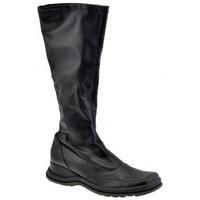 Παπούτσια Γυναίκα Μπότες για την πόλη Janet&Janet  Black
