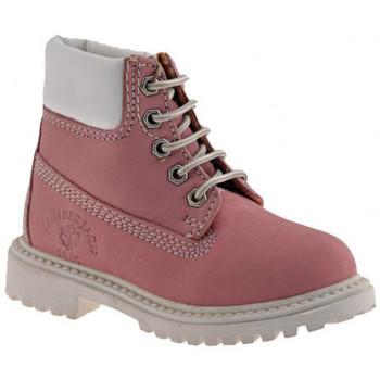 Παπούτσια Κορίτσι Μπότες Lumberjack  Ροζ