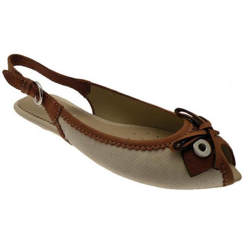Παπούτσια Γυναίκα Σανδάλια / Πέδιλα Geox  Beige