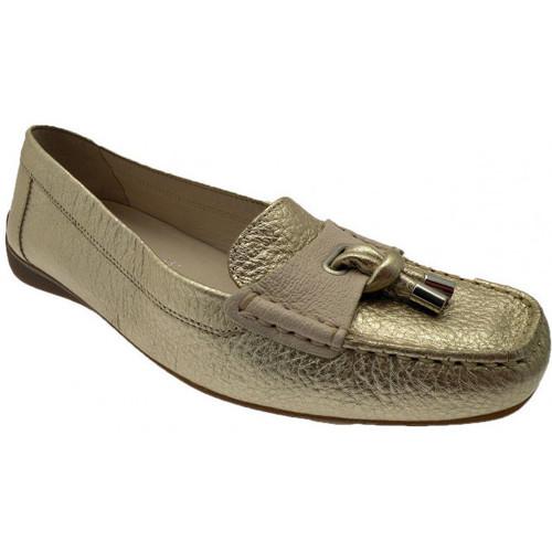Παπούτσια Γυναίκα Μοκασσίνια Geox  Gold