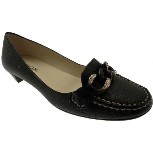 Παπούτσια Γυναίκα Μοκασσίνια Geox  Black