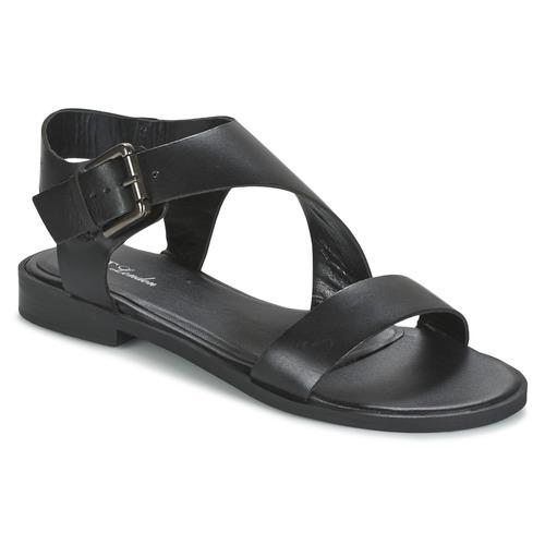 Παπούτσια Γυναίκα Σανδάλια / Πέδιλα Betty London EMALIA Black
