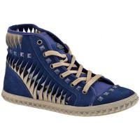 Παπούτσια Γυναίκα Ψηλά Sneakers Fornarina  Μπλέ