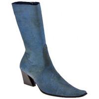 Παπούτσια Γυναίκα Μπότες για την πόλη Giancarlo Paoli  Μπλέ