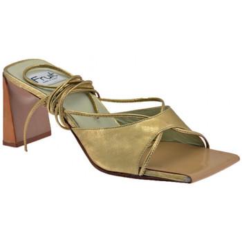 Παπούτσια Γυναίκα Τσόκαρα Now  Gold