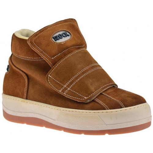 Παπούτσια Άνδρας Ψηλά Sneakers Rock  Brown