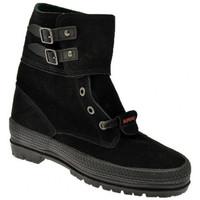 Παπούτσια Γυναίκα Μπότες Superga  Black