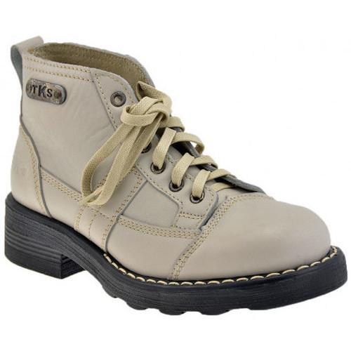 Παπούτσια Γυναίκα Μπότες Tks  Άσπρο