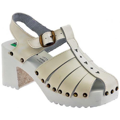 Παπούτσια Γυναίκα Σανδάλια / Πέδιλα Magica Estate  Άσπρο
