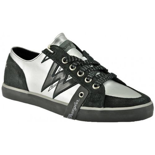 Παπούτσια Γυναίκα Χαμηλά Sneakers Wrangler  Silver