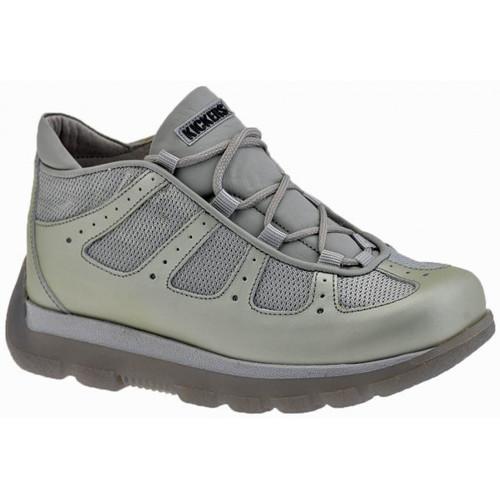 Παπούτσια Αγόρι Πεζοπορίας Kickers  Silver