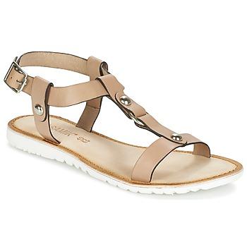 Παπούτσια Γυναίκα Σανδάλια / Πέδιλα Balsamik MONDI Beige