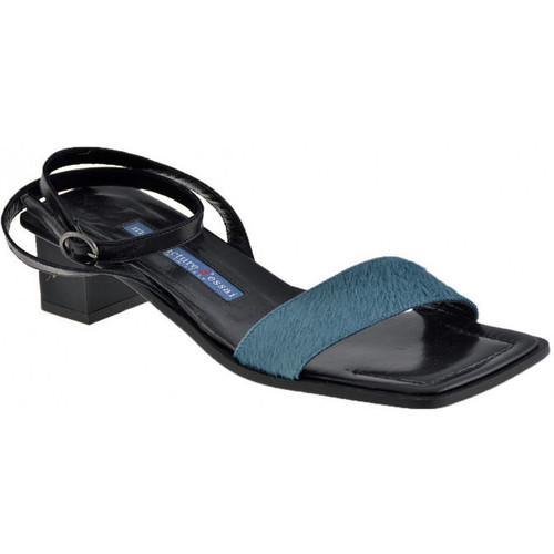 Παπούτσια Γυναίκα Σανδάλια / Πέδιλα M. D'essai  Μπλέ