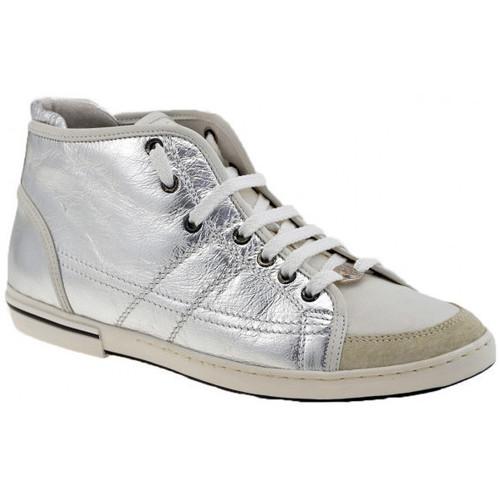 Παπούτσια Γυναίκα Ψηλά Sneakers OXS  Silver