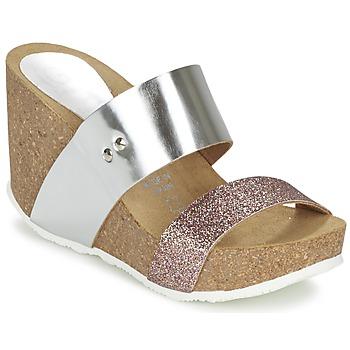 Παπούτσια Γυναίκα Τσόκαρα Ganadora FLORA Argenté