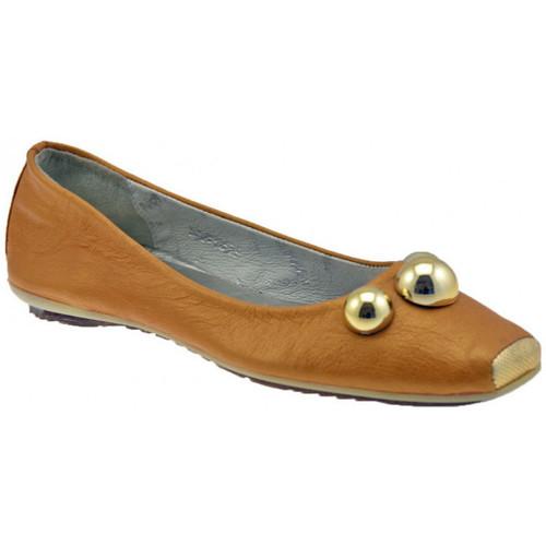 Παπούτσια Γυναίκα Μπαλαρίνες Lea Foscati  Beige
