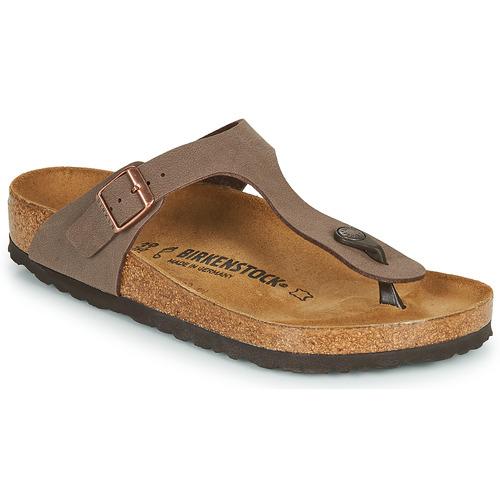 Παπούτσια Γυναίκα Σαγιονάρες Birkenstock GIZEH Brown