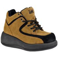 Παπούτσια Γυναίκα Ψηλά Sneakers Lee  Beige