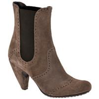 Παπούτσια Γυναίκα Μποτίνια Ssamzie  Brown