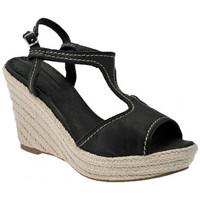 Παπούτσια Γυναίκα Σανδάλια / Πέδιλα Donna Loka  Black