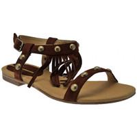 Παπούτσια Γυναίκα Σανδάλια / Πέδιλα Donna Loka  Brown