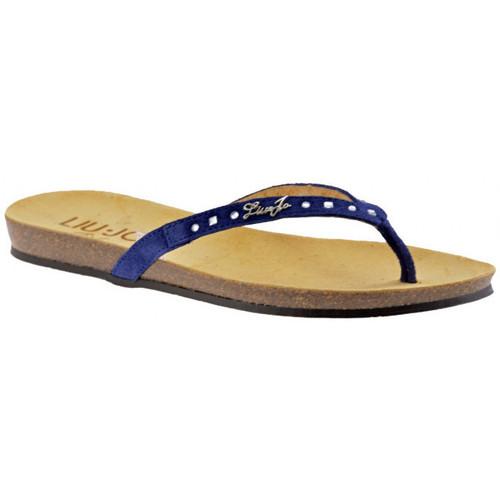 Παπούτσια Γυναίκα Σαγιονάρες Liu Jo  Μπλέ