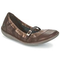 Παπούτσια Γυναίκα Μπαλαρίνες TBS MARIZA Brown / Cuivré