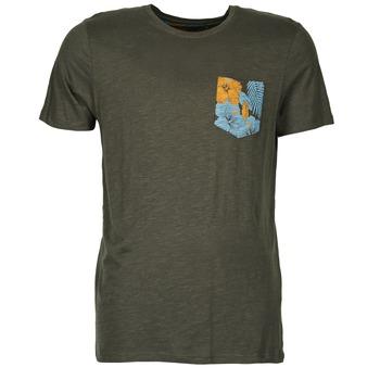 Υφασμάτινα Άνδρας T-shirt με κοντά μανίκια Jack & Jones TROPICAL ORIGINALS Black