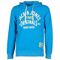 Υφασμάτινα Άνδρας Φούτερ Jack & Jones ATHLETIC SWEAT ORIGINALS μπλέ
