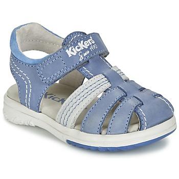 Παπούτσια Αγόρι Σανδάλια / Πέδιλα Kickers PLATINIUM μπλέ