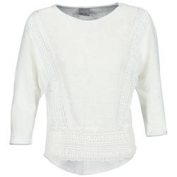 Υφασμάτινα Γυναίκα Μπλουζάκια με μακριά μανίκια Vero Moda MYBELLA άσπρο