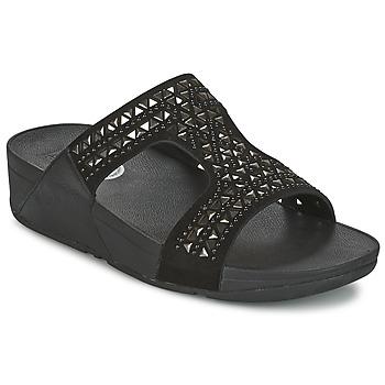Παπούτσια Γυναίκα Τσόκαρα FitFlop CARMEL SLIDE Black