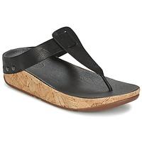Παπούτσια Γυναίκα Σαγιονάρες FitFlop IBIZA CORK Black