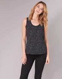 Υφασμάτινα Γυναίκα Μπλούζες Moony Mood EZTEL Black / Άσπρο