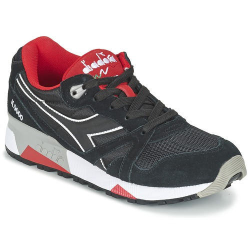Παπούτσια Χαμηλά Sneakers Diadora N9000 NYLON II Black / Red