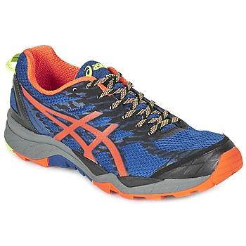 Παπούτσια Άνδρας Τρέξιμο Asics GEL-FujiTrabuco 5 μπλέ