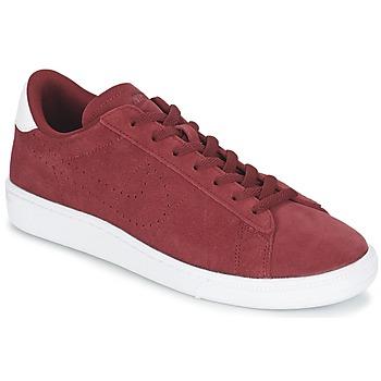 Παπούτσια Άνδρας Χαμηλά Sneakers Nike TENNIS CLASSIC CS SUEDE Red