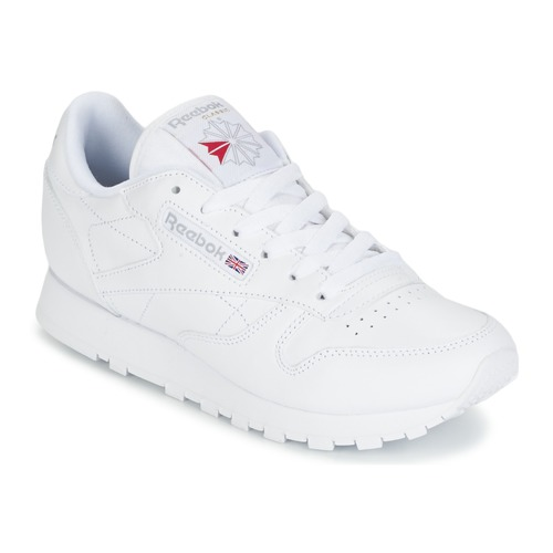 Παπούτσια Γυναίκα Χαμηλά Sneakers Reebok Classic CLASSIC LEATHER Άσπρο