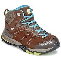 Παπούτσια Παιδί Πεζοπορίας Tecnica CYCLONE III MID TCY JUNIOR Brown / μπλέ