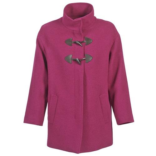 Υφασμάτινα Γυναίκα Παλτό Benetton DILO Ροζ