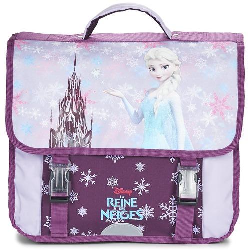 Τσάντες Κορίτσι Σάκα Disney REINE DES NEIGES CARTABLE 38CM Μώβ