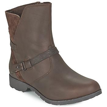 Παπούτσια Γυναίκα Μπότες Teva DELAVINA LOW Brown