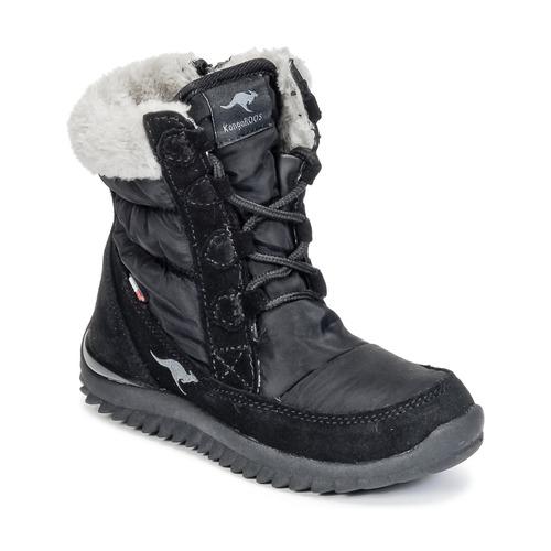 Παπούτσια Κορίτσι Snow boots Kangaroos CUPY JUNIOR Black