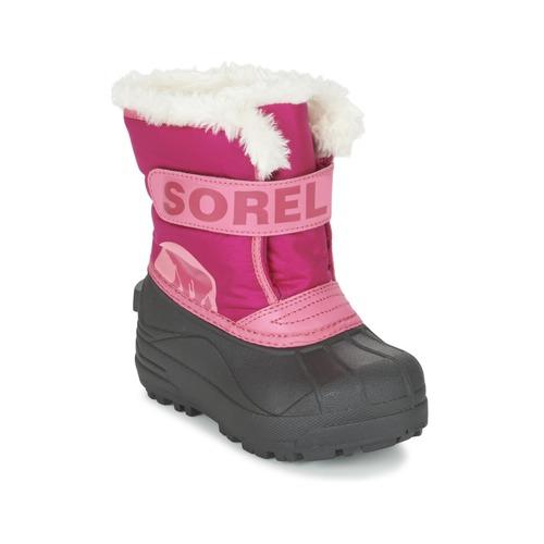 Παπούτσια Παιδί Snow boots Sorel CHILDRENS SNOW COMMANDER ροζ