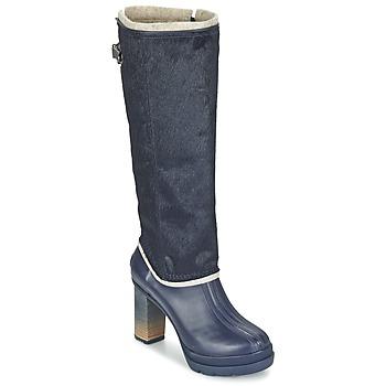 Παπούτσια Γυναίκα Μπότες για την πόλη Sorel MEDINA IV PREMIUM COLLEGIATE / NAVY / ΜΑΥΡΟ
