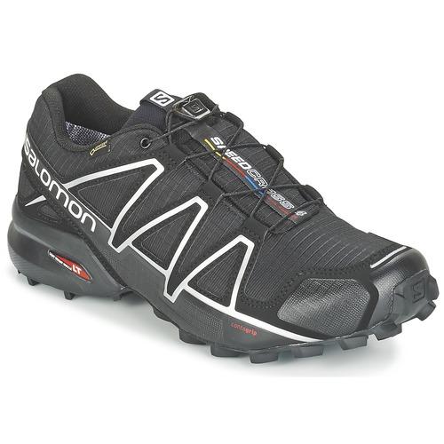 Παπούτσια Άνδρας Τρέξιμο Salomon SPEEDCROSS 4 GTX® Black / Argenté
