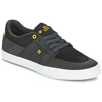 Παπούτσια Άνδρας Χαμηλά Sneakers DC Shoes WES KREMER Black / Grey / Yellow