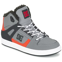Παπούτσια Παιδί Ψηλά Sneakers DC Shoes REBOUND WNT B SHOE XSKN Grey / Black / Orange