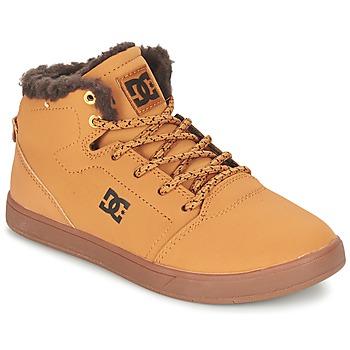 Παπούτσια Παιδί Ψηλά Sneakers DC Shoes CRISIS HIGH WNT B SHOE WD4 Blé / Σοκολά